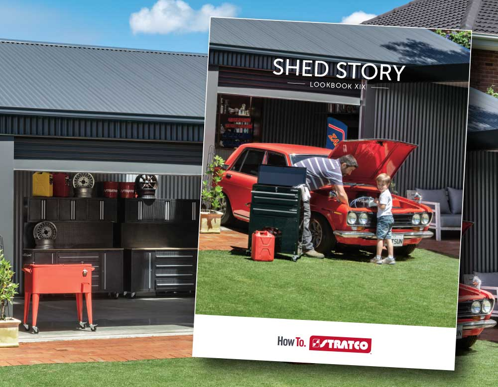 STRATCO SHED STORY LOOKBOOK OUT NOW