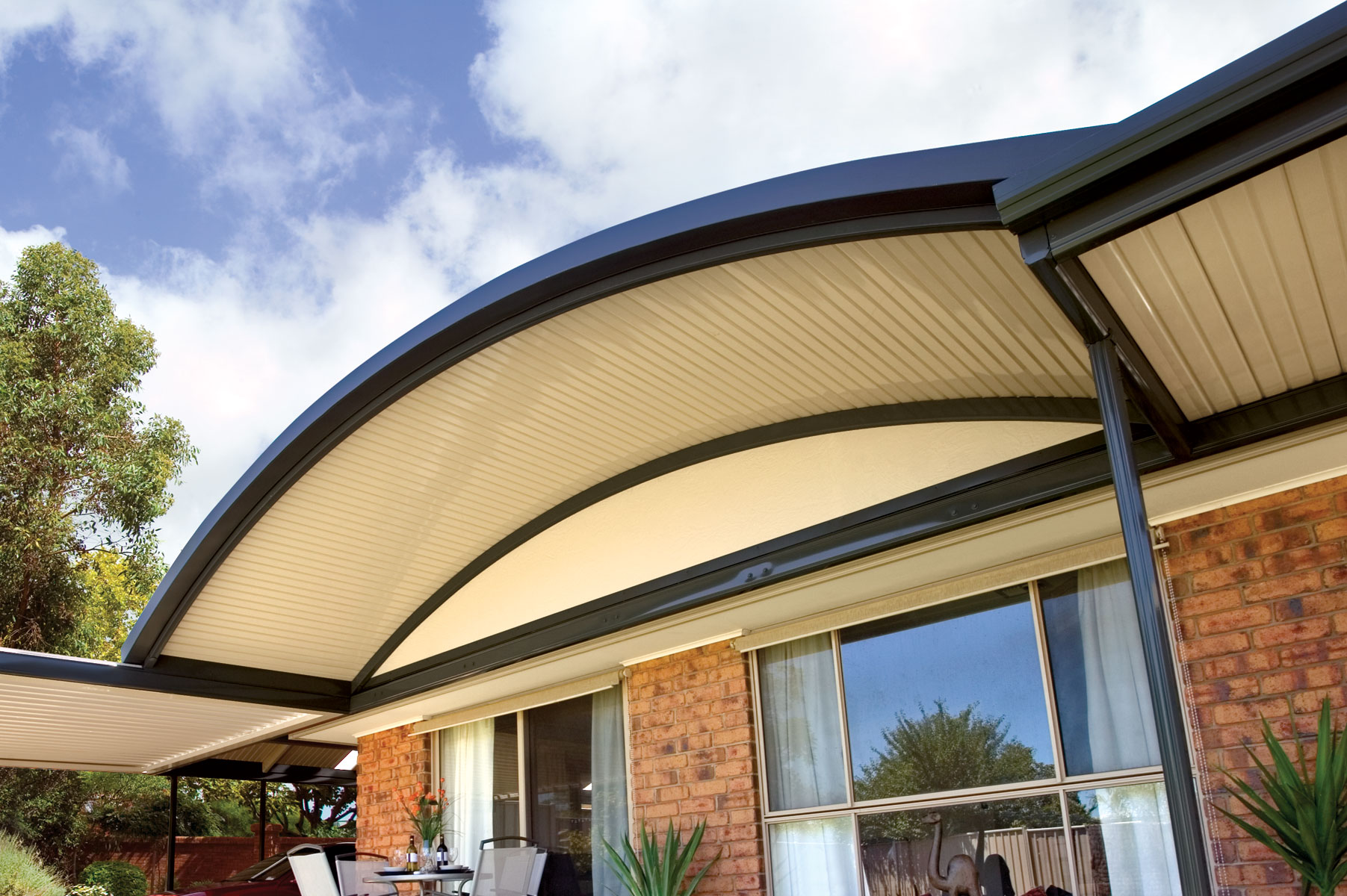 Curved Flashings Stratco