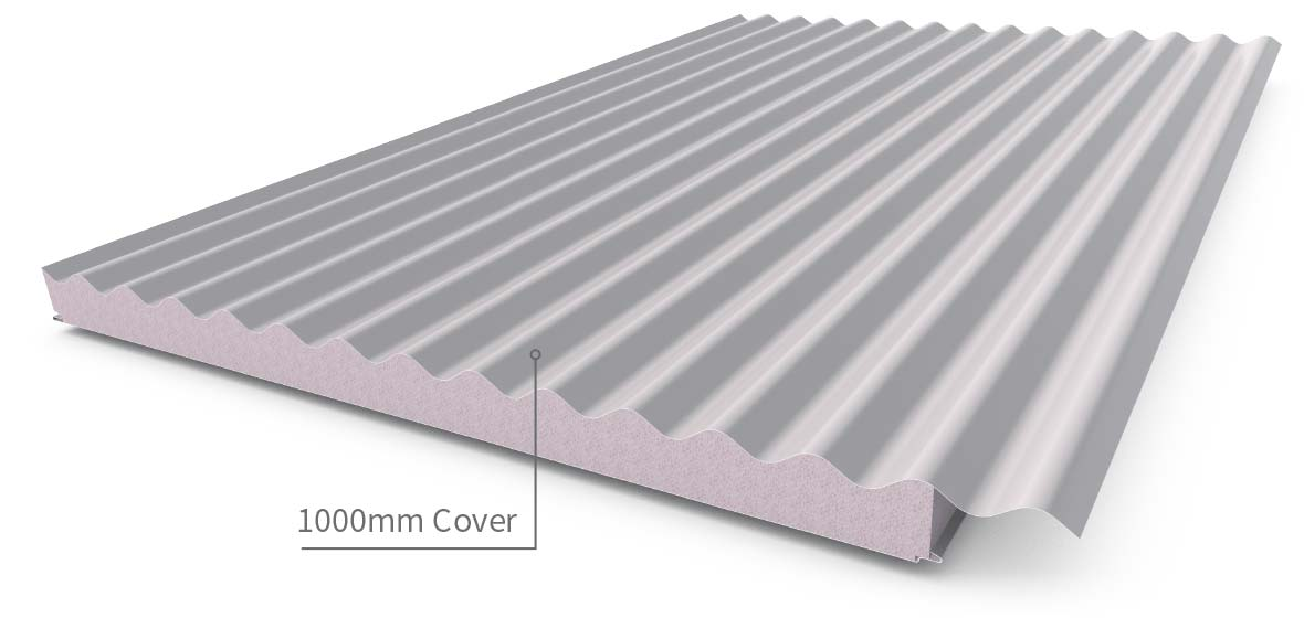 Cladding Roofing Sheeting Walling Cooldek Profile
