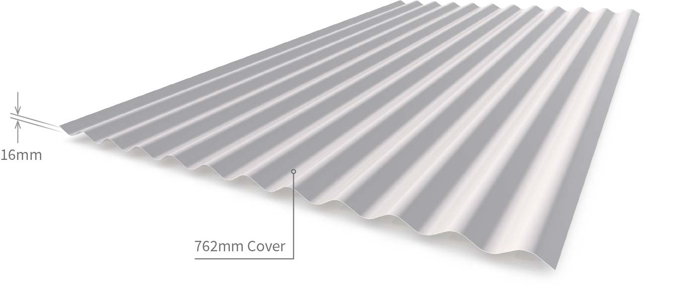 Cladding Roofing Sheeting Walling Corrugated CGI Profile
