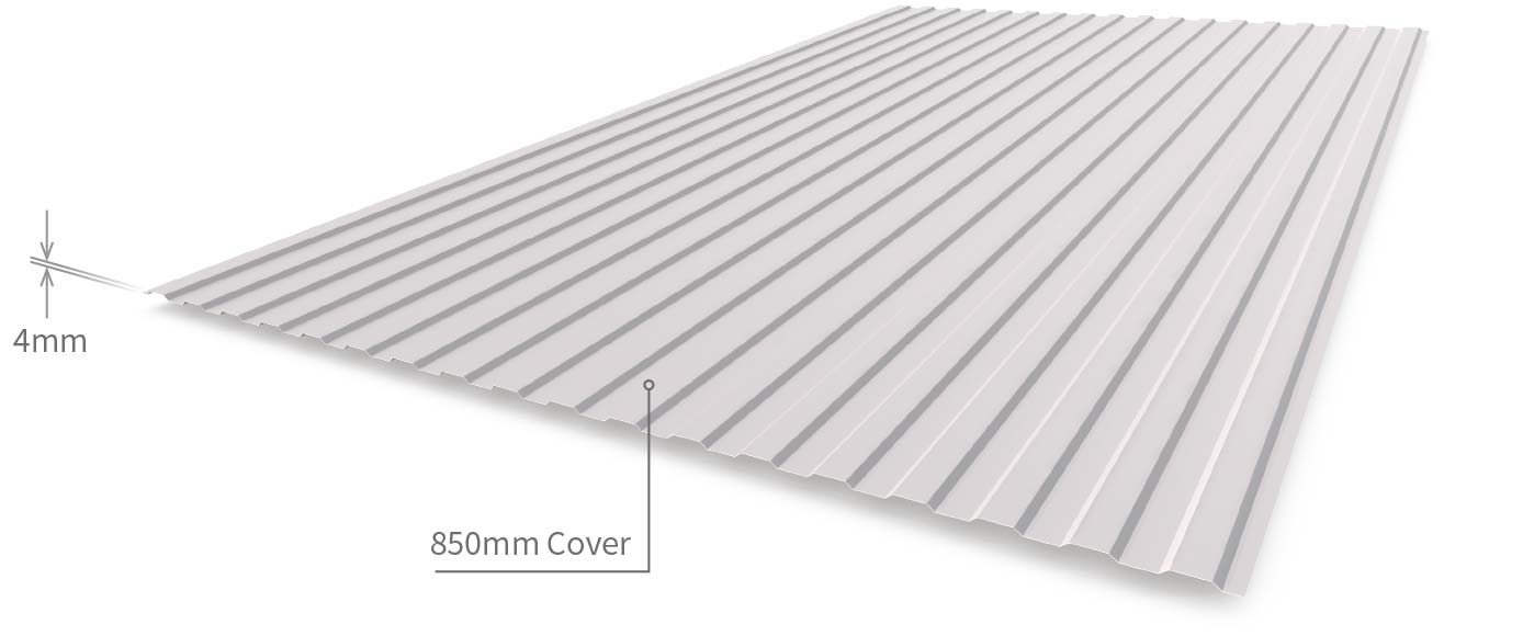 Maxirib Cladding Sheeting Profile