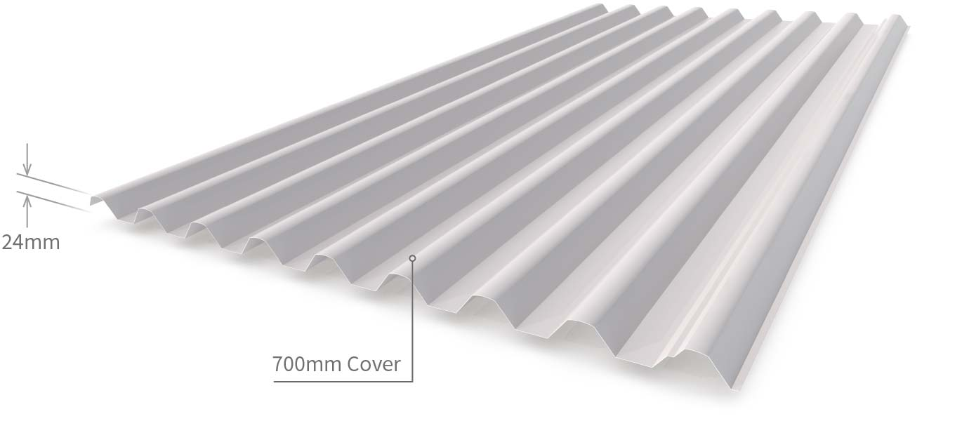 Cladding Roofing Sheeting Walling Smartspan Profile