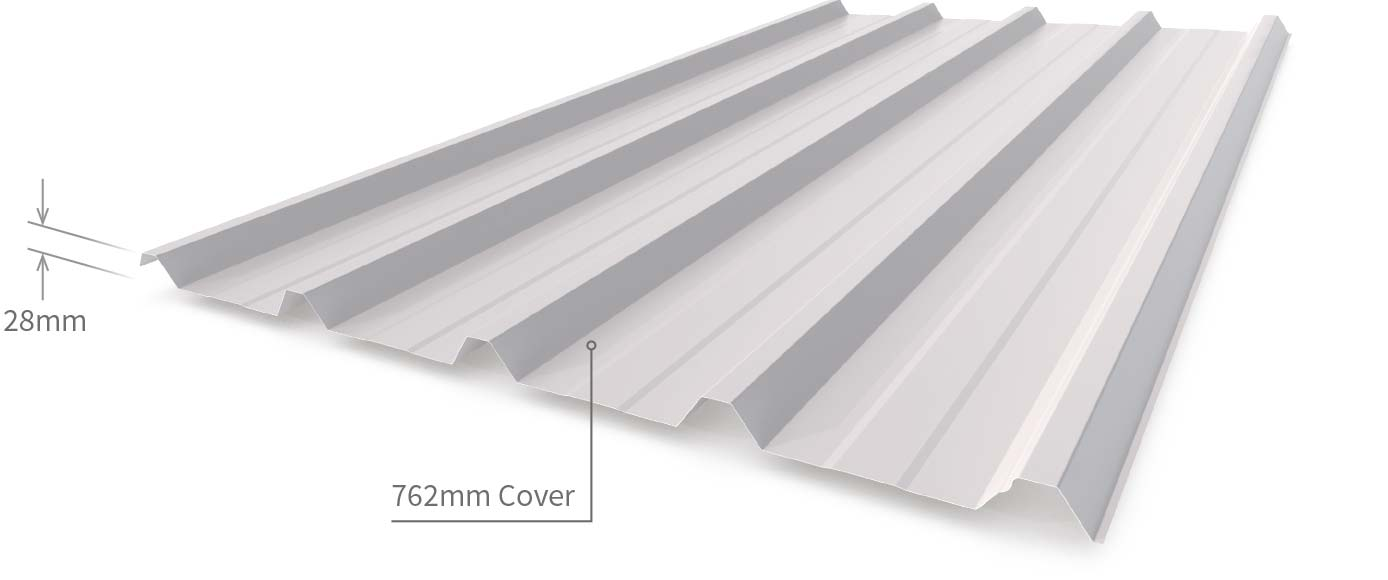 Cladding Roofing Sheeting Walling Superdek Profile