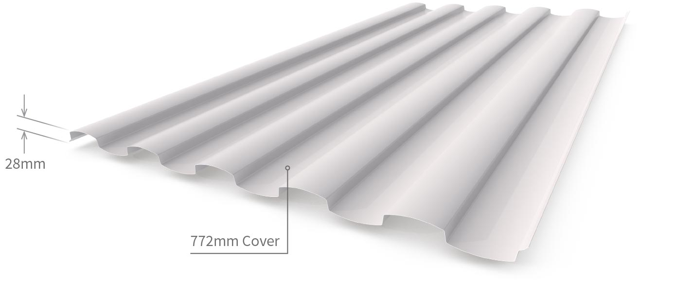 Cladding Roofing Sheeting Walling Wavelok Profile