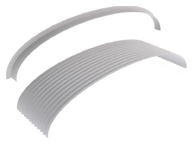 Flashings Roof Flashing Curved Curved Apron Arch