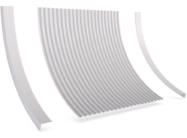 Flashings Roof Flashing Curved Convex Barge Reverse Arch
