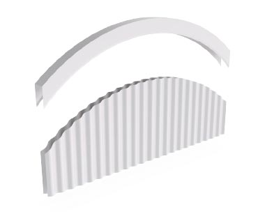 Flashings Roof Flashing Curved Curved Parapet Arch