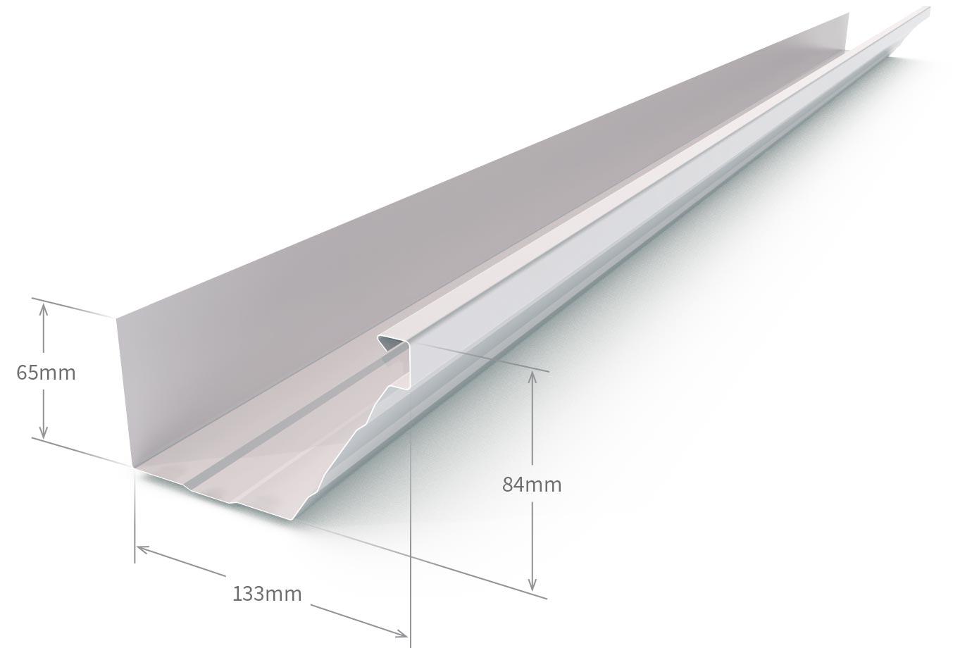 Hk Gutter Zinc Aluminium