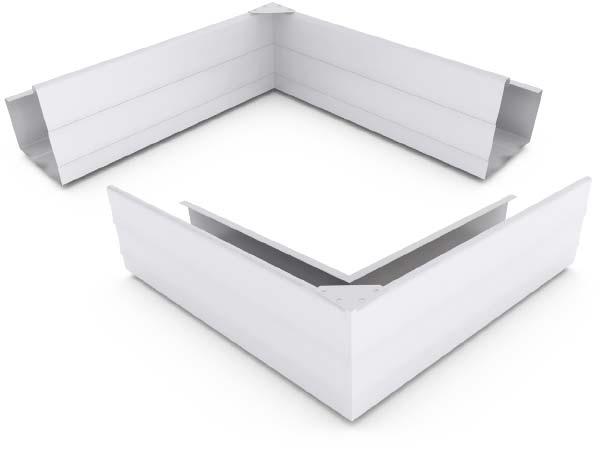 Vf Gutter Slotted Zinc Aluminium