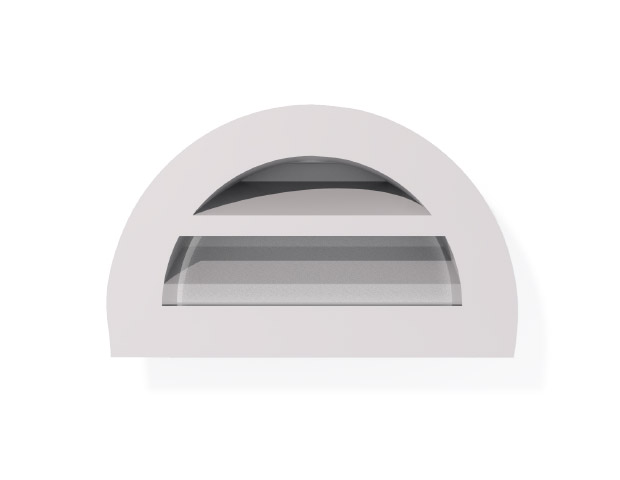 Roofing Accessories Louvre Vents Half Round