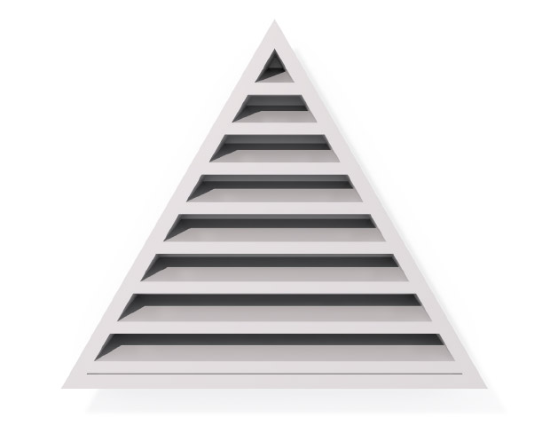 Roofing Accessories Louvre Vents Triangle