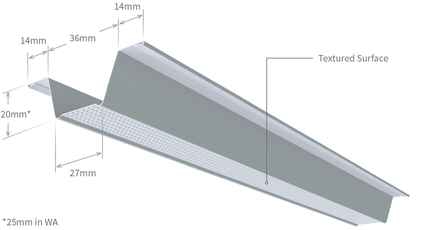 Steel Framing Ceiling Batten Profile