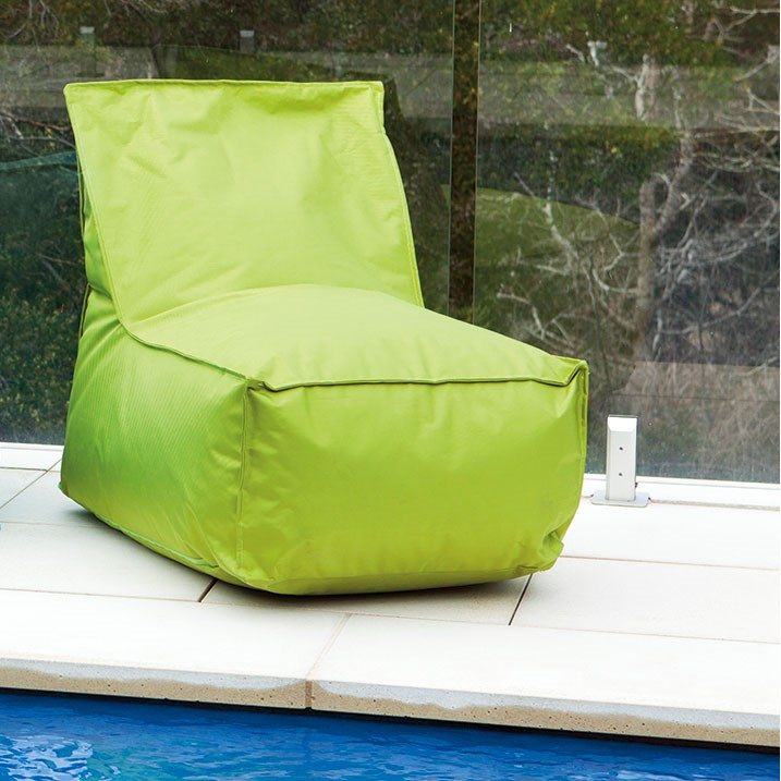 Sunscape Lime Green Bean Bag Chair on Sunscape Outdoor Living id=40436