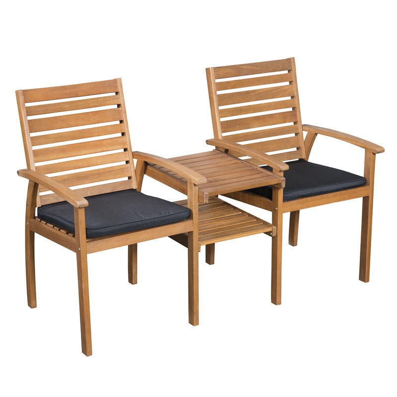 Sunscape Tarkine Jack and Jill Timber Chair on Sunscape Outdoor Living id=96623