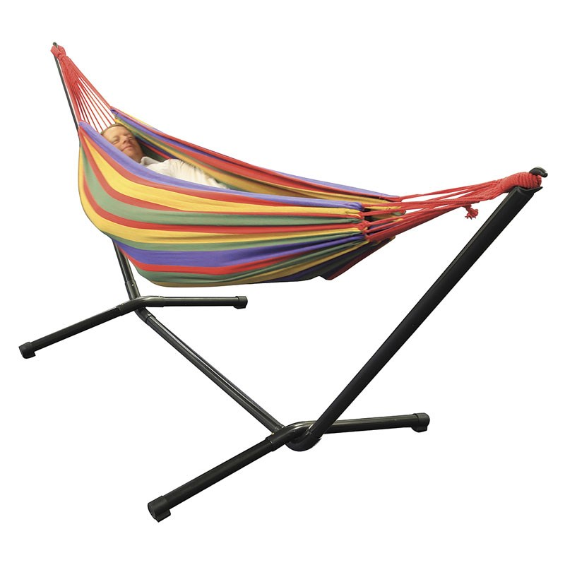 Sunscape Double Hammock with Frame on Sunscape Outdoor Living id=30162