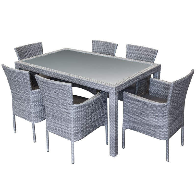 Sunscape Amalfi 7 Piece Dining Setting on Sunscape Outdoor Living id=88555