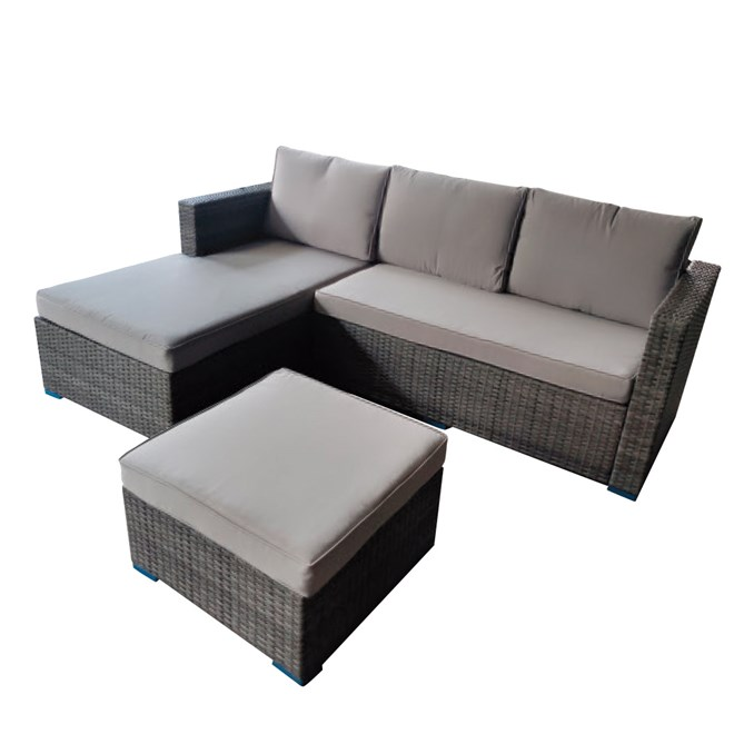 Wicker Chaise Lounge 3 Seater on Sunscape Outdoor Living id=76922