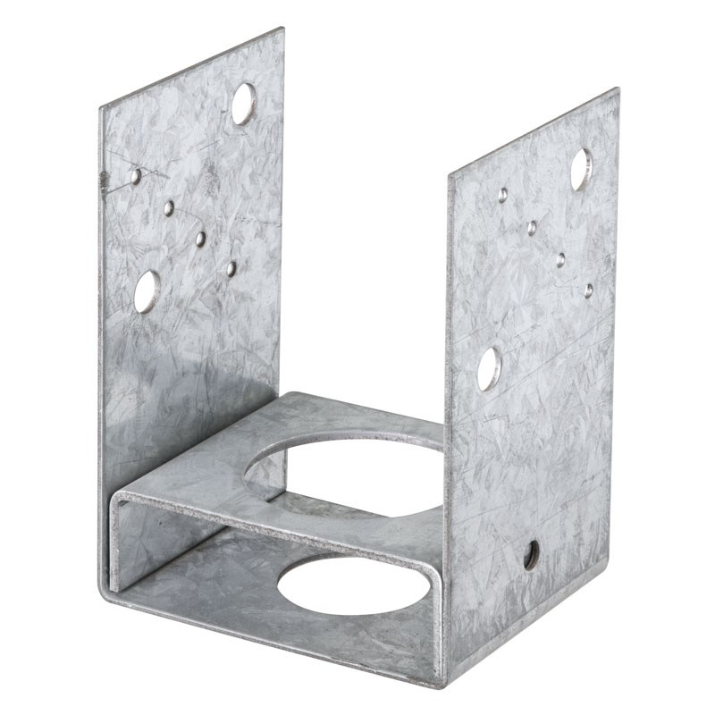 Pryda 100mm Hot Dipped Galvanised Full Stirrup Bolt Down