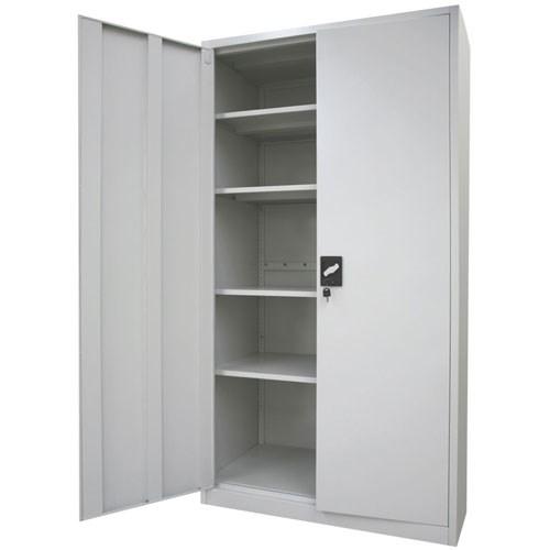Stratco 2 Door Metal Storage Cabinet, Storage Cabinets With Lock
