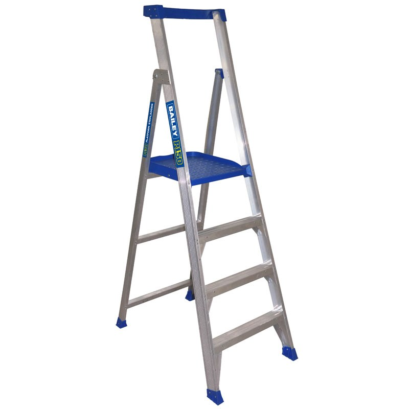 Bailey 4 Step Aluminium Platform Ladder