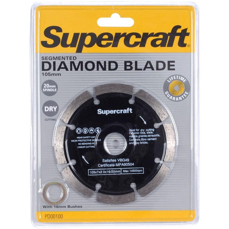 Segment Blade Diamond 105x20mm