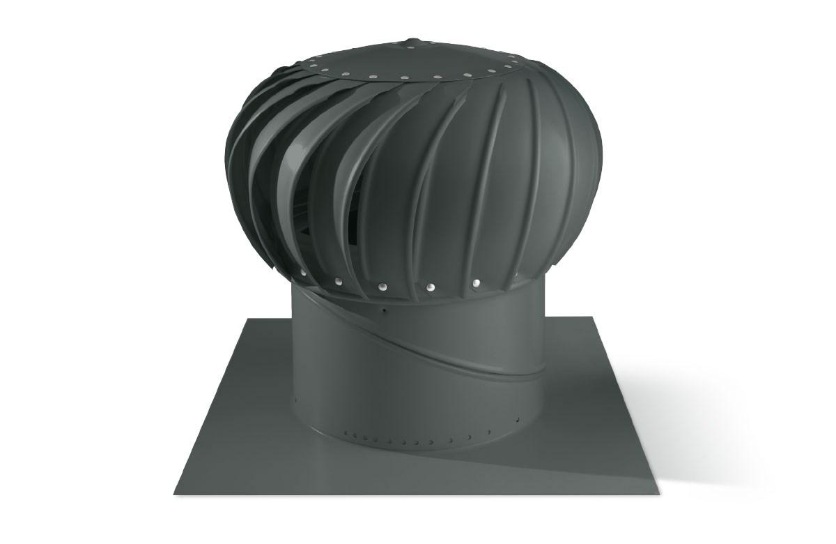 Spinaway Turbo Ventilator Slate Grey