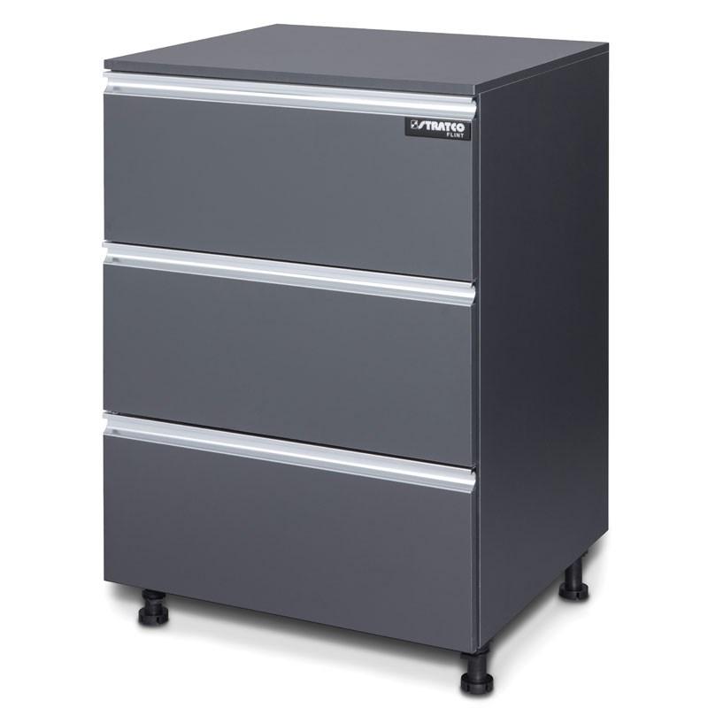 Flint 3 Drawer Cabinet