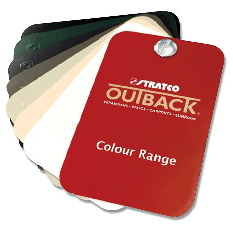 Stratco Outback Colours